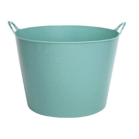 Taurus Flexi Tub Round Green Light 40L