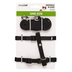 Simply Cat Adjustable Harness Lead Set
