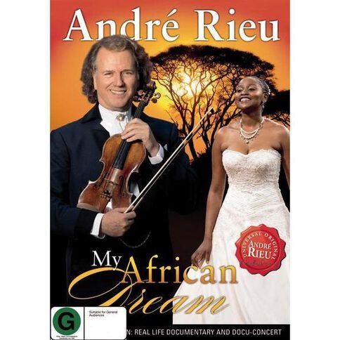 Andre Rieu My African Dream DVD 2Disc