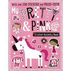 My Pretty & Pink Sticker Activity Books