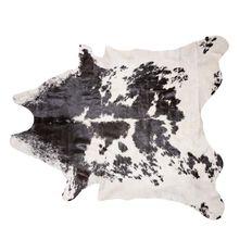 Habito Rug Cow Hide Black & White