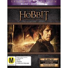 The Hobbit Trilogy Extended Edition Blu-ray 15Disc