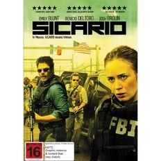 Sicario DVD 1Disc