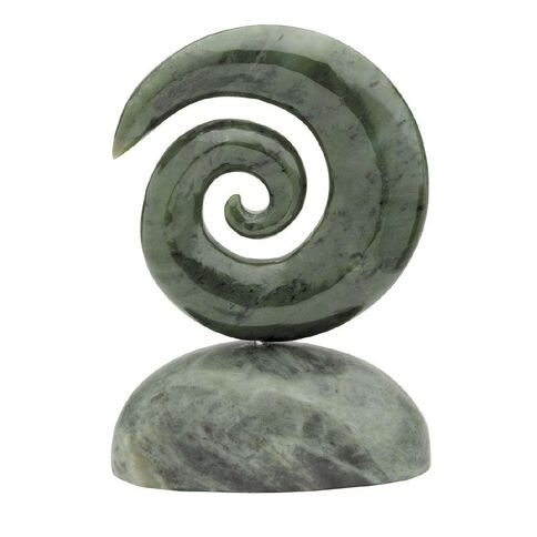 Jade Koru Carving