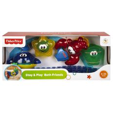 Fisher-Price Stay 'n Play Bath Friends