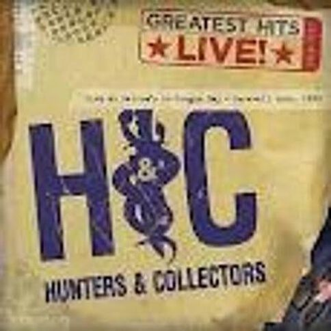 Greatest Hits Live CD by Hunters & Collectors 1Disc