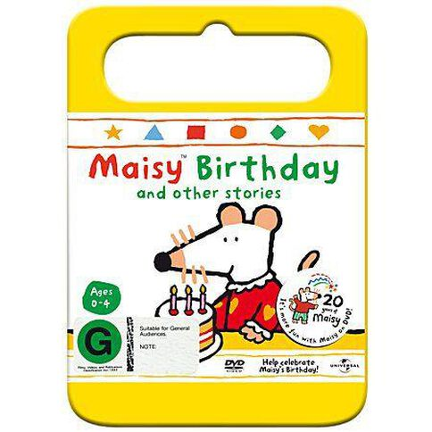 Maisy Birthday And Other Stories Vol 8 DVD 1Disc