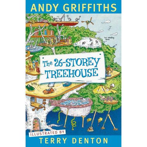 26 Storey Treehouse by Andy Griffiths & Terry Denton