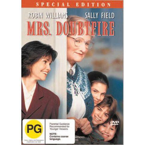 Mrs Doubtfire DVD 1Disc