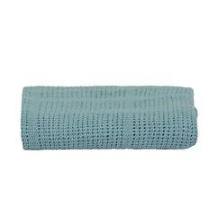 Babywise Cotton Cellular Blanket Blue