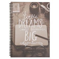 Deskwise Fashion Notebook Little Dreams A4