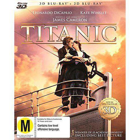 Titanic Blu-ray + 3D Blu-ray 2Disc