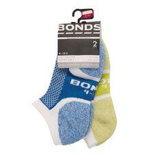 Bonds Boys' Ultimate Comfort Low Cut Socks 2 Pack