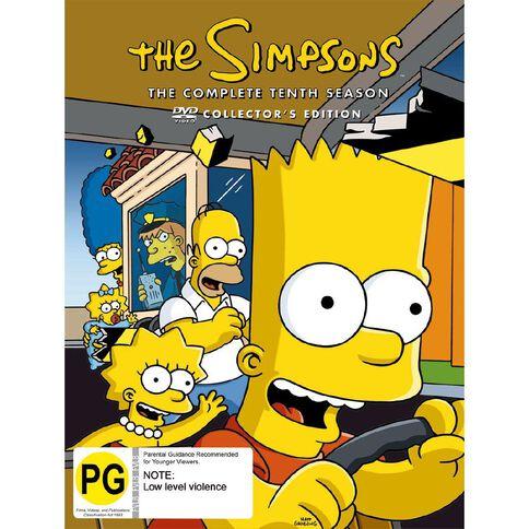 The Simpsons Season 10 DVD 4Disc