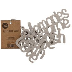Craftwise Chipboard Lettering