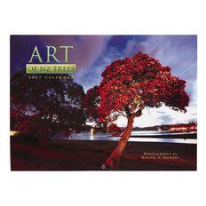 Calendar 2017 Wall Art of Trees 285mm x 210mm