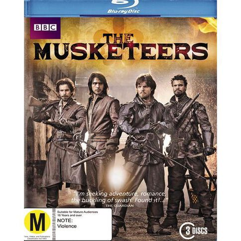 The Musketeers Blu-ray 3Disc