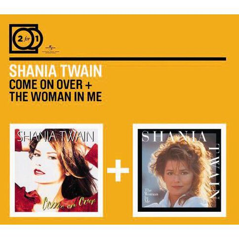 2for1 Come on Over/The Woman in Me CD by Shania Twain 2Disc