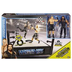 WWE Wrestlemania Ring & 2 Figures