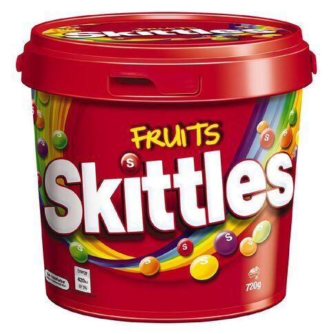 Skittles Fruit Bucket 720g