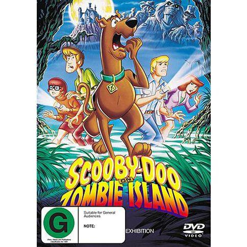 Scooby Doo In Zombie Island DVD 1Disc