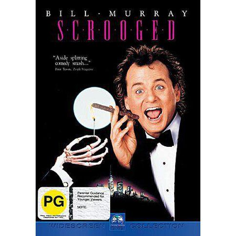 Scrooged DVD 1Disc