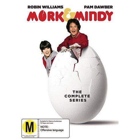 Mork & Mindy Season 1-4 DVD 16Disc