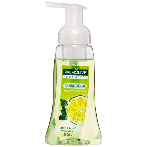 Palmolive Antibacterial Foaming Hand Wash Pump Lime & Mint 250ml