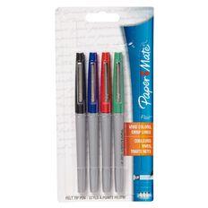Paper Mate Flair Ultra Fine 4 Pack