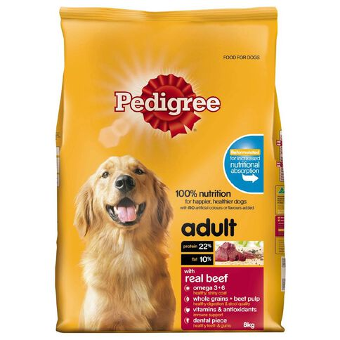 Pedigree Adult Complete Nutrition with Real Beef 8kg
