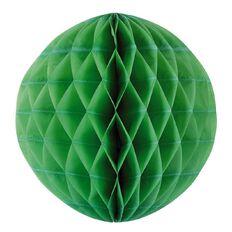 Party Inc Honeycomb Lantern Lime Green