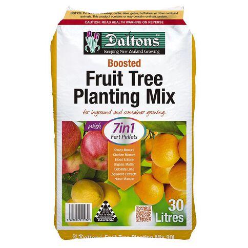 Daltons 7-in-1 Fert Pellets Boosted Fruit Tree Planting Mix 30L