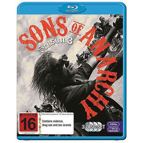 Sons Of Anarchy S3 Blu-ray 3Disc