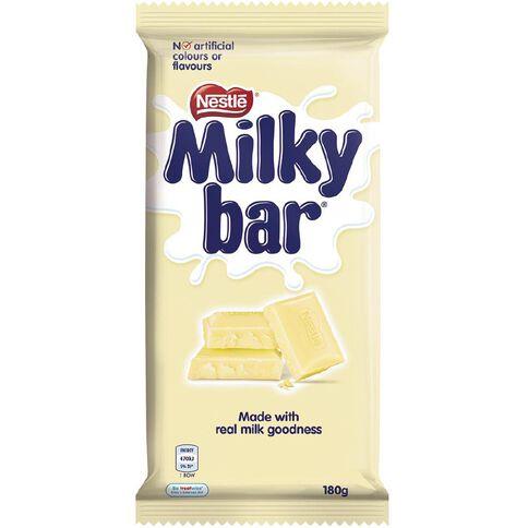 Nestle Milkybar Block 180g