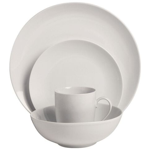Harrison & Lane Coupe Dinnerplate White