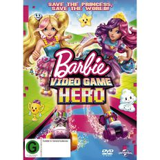 Barbie Video Game Hero DVD 1Disc