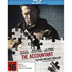 The Accountant Blu-ray 1Disc