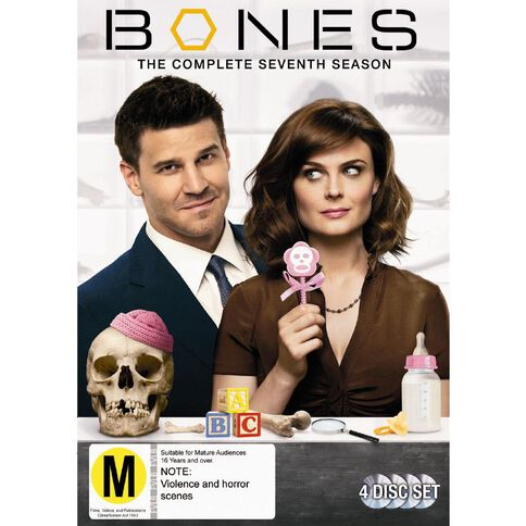 Bones Season 7 DVD 4Disc