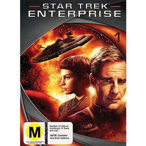 Star Trek Enterprise Season 1 DVD 1Disc