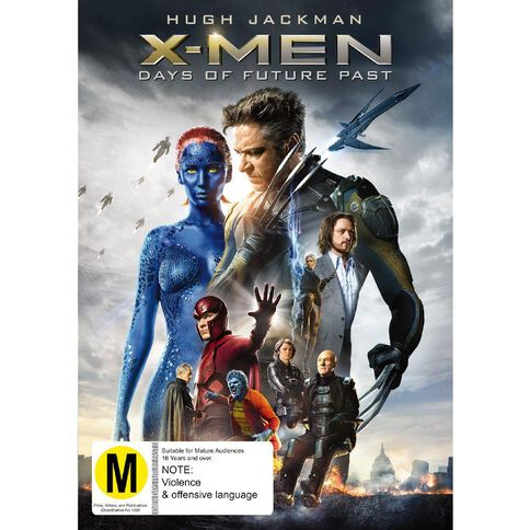 X-Men Days of Future Past DVD 1Disc