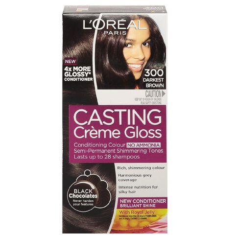 L'Oreal Paris Casting Creme Darkest Brown 300