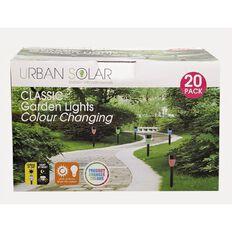 Urban Solar Colour Changing Garden Light 20 Pack
