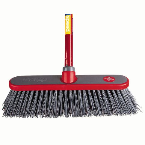 Decor Speed Outdoor Premium Push Broom 300mm