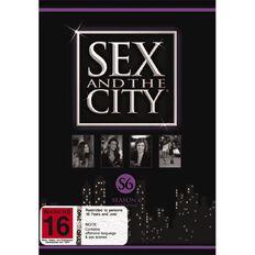 Sex & The City Season 6 Part 2 DVD 2Disc