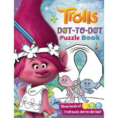Trolls Dot-to-Dot Book