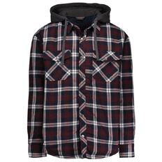 Rivet Padded Flannelette Jacket