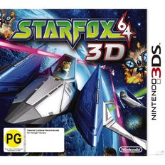 3DS Starfox 64