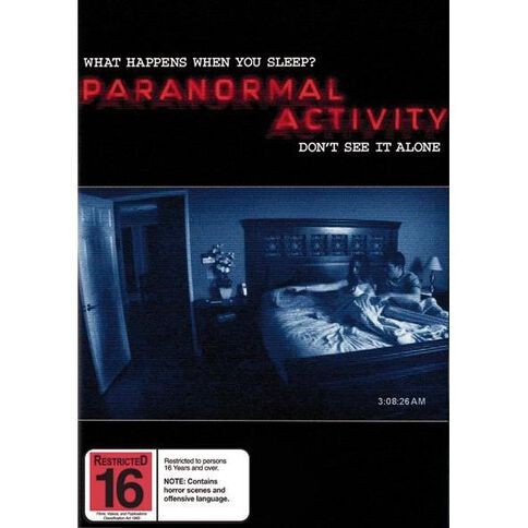 Paranormal Activity DVD 1Disc