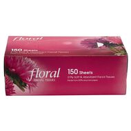 Floral Facial Tissue 150 Sheets x 2 Ply