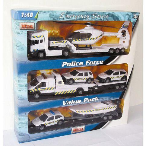 Teama Police Force 1:48 Value Pack